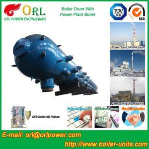 New steam boiler 50 ton stainless steel petroleum industry boiler spare part mud drum