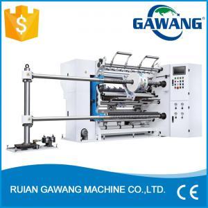 China Computer Control BOPP Film Slitting Machinery on sale