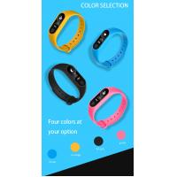 Wholesale Multi Colored Smart Movement Bracelet Fitness Tracker Support For Call Reminders from china suppliers