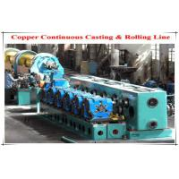 Buy cheap Oval Circular Holes Φ250 Cold Rolling Mill , Copper Rod Two Roll Mill from wholesalers