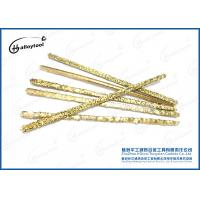 Wholesale Coating Tungsten Carbide Composite Rods , Gold Tungsten Carbide Electrode from china suppliers
