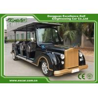 Black G1S8 6 Erson Retro Golf Cart 48V Trojan Battery Powered for sale