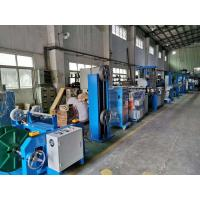 China 70+35mm Pvc Insulated Wire Extrusion Machine / Cable Making Machine for sale