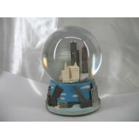 Wholesale 80mm City Water/Snow Globes with rotating music OEM acceptable from china suppliers