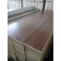 Quality Wide Plank Black Walnut Engineered Flooring for sale