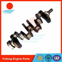 Wholesale excavator crankshaft China 4JB1 crankshaft 8-94443-662-0 for Sumitomo SH60 DH55 from china suppliers