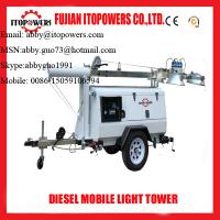Wholesale Emergency mobile diesel light tower on sale from china suppliers
