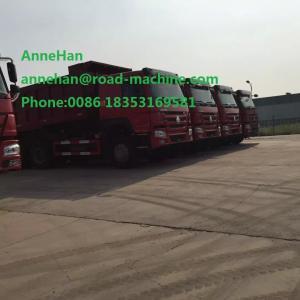China SINOTRUCK HOWO A7 6X4 Heavy Duty Dump Truck Euro 2 Emission Engine on sale