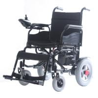 Best Professional Portable Wheel Chair , Electric Motor Wheelchair With 12 Inch Rear Tire wholesale