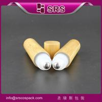 Wholesale refillable bottle and 20ml wood roll on from china suppliers