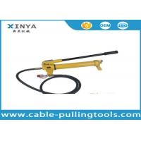 China Model CP-700 Hydraulic Hand Pump For Hydraulic Crimping tools 700bar 1000Psi on sale