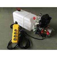 Double Acting Hydraulic Cylinder Hyd Power Unit With 2 Station CETOP 03 Solenoid Valves