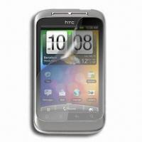 Wholesale Mobile Phone Screen Protector for HTC WildFire S, with High Transparency Film from china suppliers