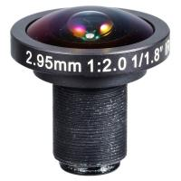 "1/1.8"" 2.95mm F2.0 5Megapixel 1080P M12/CS Mount 178degree Wide Angle Lens for IMX226"