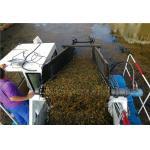 China high efficiency trash skimmer trash hunetr aquatic weed harvesting machine supplier for sale