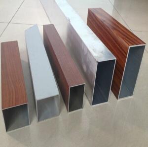 China Rectangular Aluminum Extrusion Tube T4 , Authorized Welding Aluminum Tube on sale