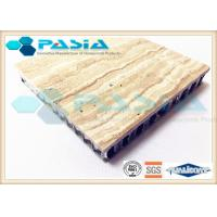 Wholesale Interior Wall Design Lightweight Cladding Panels , Travertine Composite Stone Panels from china suppliers