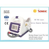 China Portable Q Switch ND YAG Laser Tattoo Removal Machine / Age Spot Removal Machine for sale