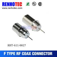 Wholesale 75 Ohm F Type Female CATV Coaxial Connector from china suppliers