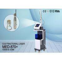 China KES Beauty Clinic Use Co2 Fractional Laser Machine For Scar Acne Removal MED-870 for sale