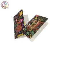 China Custom Printed Note Cards 350g Coated Paper CMYK Pantone Printing on sale