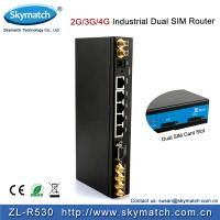 Wholesale Industrial 4g lte Router with 802.11 b/g/n For Wireless M2M Communication (R530-a) from china suppliers