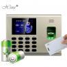 Proximity Card Fingerprint Access Control & Time Attendance System CE Certificate for sale