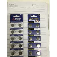 Wholesale Tianqiu LR44 Button Cell Battery Mitsubishi LR44 button cell battery AG13 button cell battery from china suppliers