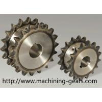 Wholesale Vehicle Parts Precision 316 SS Double Chain Sprocket With Heat Treatment from china suppliers