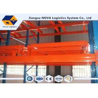 Wholesale 3000 Kg Max Load Material Handling Racks , Push Back Industrial Storage Racks from china suppliers