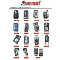 Wholesale Auto Accessories Electronics Car Alarm Remote ,With 5 Buttons Metal Remote Starter Alarm from china suppliers