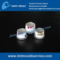 Wholesale 200ml thin wall IML food cups mould exporter,thin walls plastic container lids mould from china suppliers