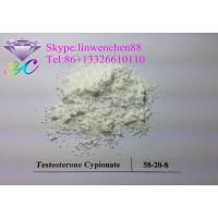 Best Raw Steroid powders 99% Testosterone Cypionate  CAS:58-20-8 White Crystal powder wholesale