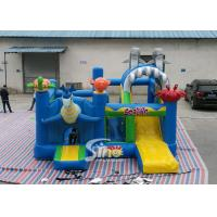Wholesale Sealife Inflatable Combo Bouncy Castle With Slide For Kids Inflatable Playground Party Time from china suppliers