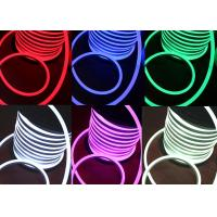 Wholesale RGB 24v Neon Flex Light IP65 Waterproof 60 LEDs / M 270 Degree Beam Angle from china suppliers