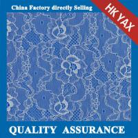 Wholesale 2014 china factory price hot selling New coming white flower elasticity voile lace fabric YAXL-3322 from china suppliers