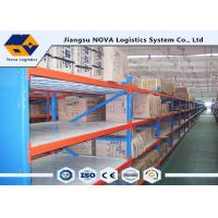 Wholesale Hot Rolled Steel Stable Longspan Shelving 1000 Kgs Per Layer Loading Capacity from china suppliers