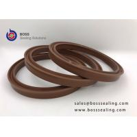 Wholesale FPM/FPM/FKM brown Hydraulic cylinder piston u cup lip seal for pumps from china suppliers