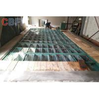 Best Air Cooling / Water Cooling 10 Tons Block Ice Maker With Crane System Civil Work Design wholesale
