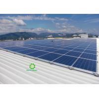 China Roof Mounted Solar Tracking System , Solar PV Mounting Systems for sale