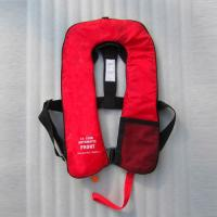 China 150N Auto Inflatable Adult Life Jacket Vest With Safety Harness & Lifeline on sale