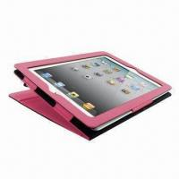Wholesale Leather Case in Book Style (Single Stand Function) for Apple's iPad, Different Colors from china suppliers
