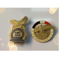 2D Customized Military Pin Badges With Soft Enamel For Souvenir Date