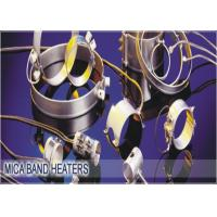 Best Plastic Extruders Mica Heater Bands And Strips , 600V Ceramic Band Heaters wholesale