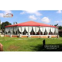 20x50m Multi High Peak tent with Glass Wall on 4sides for Concret music