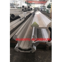 Buy cheap S1D Retractable Aluminium Extruded Profiles Heat Treatment T6 16FT Length from wholesalers