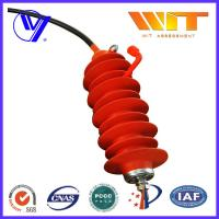 24KV Electrical Transmission Line Surge Arrester with Silicone Rubber Housing
