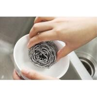 Quality Wear Resistant 410 / 430 Stainless Steel Cleaning Ball Removal Of Stubborn for sale