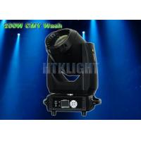 China Light Weight CMY LED Based Moving Heads Lights 200W 15 - 45 Degree Zoom Angle on sale