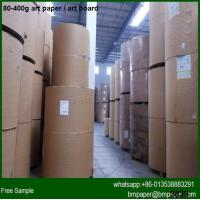 China Promotional price two side coated 157gsm Art Paper Manufacturers in China for sale